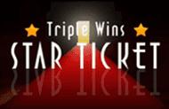 Онлайн новоиспеченный Triple Wins star Ticket
