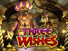 Бесплатный игровой аппарат Three Wishes